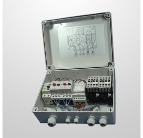 Cuadro Eláctrico 2 Pulsador digitales 2HP (Temporizador 0-180 min.)