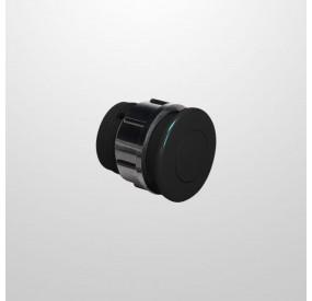 Pulsador Neumático Spa Negro