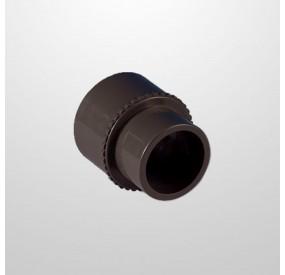 """Adaptador PVC 1 1/2"""" (USA) x 50 mm. (Encolar)"""