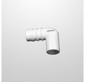 """Adaptador Codo 90º 1/2"""" (USA) x Ø21 mm. (Encolar)"""
