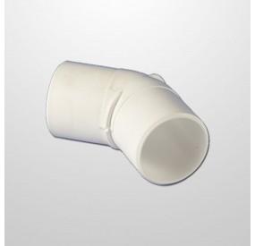 "Codo PVC 45º Ø2"" (USA) - Macho/Macho (Encolar)"