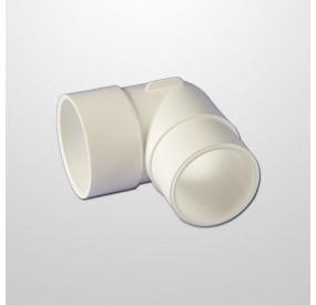 """Codo PVC 90º Ø2"""" (USA) - Macho/Hembra (Encolar)"""