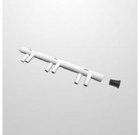 """Colector Venturi 6 Salidas (Ø11 mm.) Conexión Ø3/4"""" (USA)"""