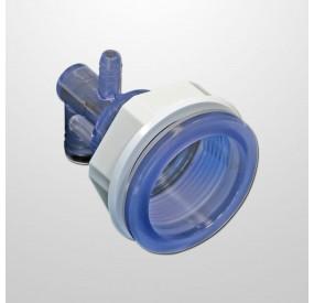 Cuerpo Polyjet (Roscado)  - Conexiones Ø21 mm. (Agua) y Ø11 mm. (Aire) - (Abrazadera)