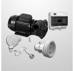 Kit NCC Obra + Bomba 2HP + Cuadro Digital + Pulsador Inox 316L