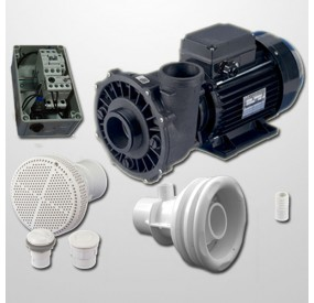 Kit NCC Obra + Bomba 2HP + Cuadro Neumático
