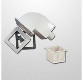 Skimmer Spa Blanco 18 cm. (Sin Cartucho)