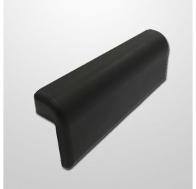Cabezal Gel Confort Short Negro (100 x 300 x 50 mm.)