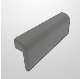 Cabezal Pu Confort Short Silver Gris (2 Ventosas)