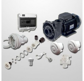 Kit Hidro Liner 6 Polyjets + NCC + Bomba 2HP (Digital)