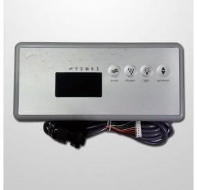 Pulsador Digital 4 Digitos Rectangular (Spa)