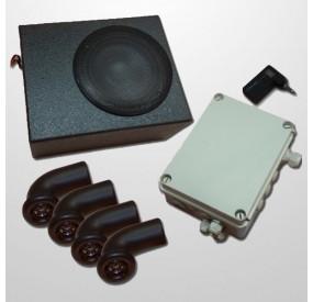 Kit Audio Bluetooth 4 Minispeakers + 1 Subwoofer