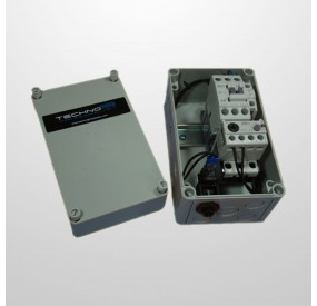 Cuadro Eléctrico Protección Motor 3HP + Interruptor Neumático)