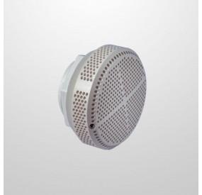 """Aspiración Blanca Ø130 mm. - Conexión Recta Ø2"""" (USA)"""