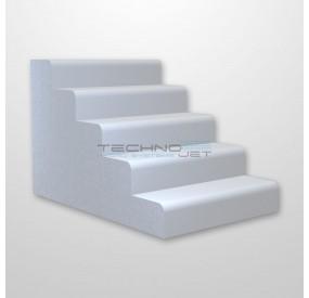 Escalera interior piscina 5 escalones Wellness Modular