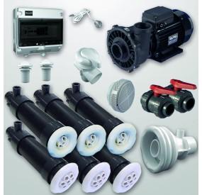 Kit Hidro Gunita 6 PolyJets + NCC + Bomba 3HP (Digital)