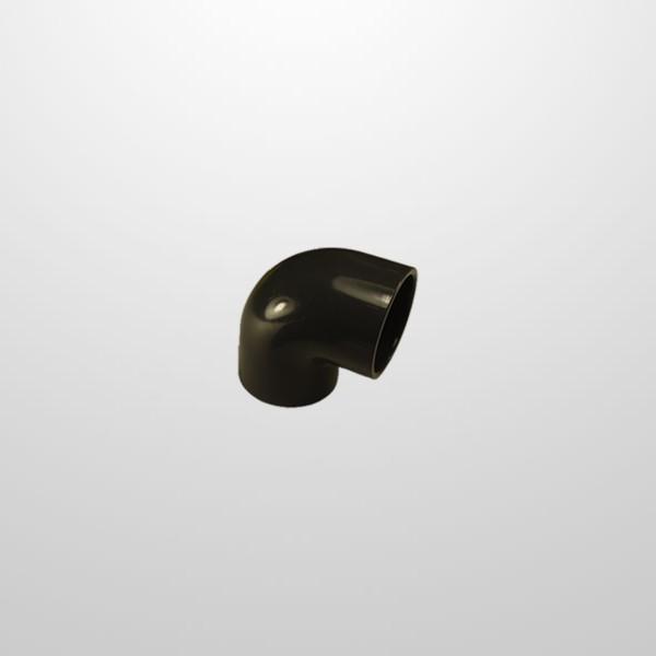 Codo PVC 90º Ø40 mm. (Encolar)
