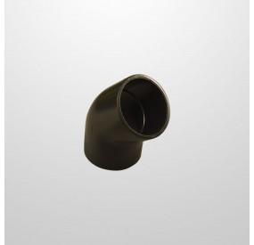 Codo PVC 45º Ø50 mm. (Encolar)