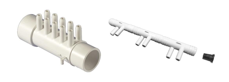 para conductos de ventilaci/ón Hydroplanete/-/Extractor//intractor de aire con cable y toma el/éctrica 100/- 125/- 150/mm